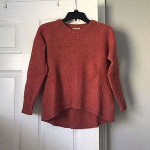 Madewell High Low Sweater